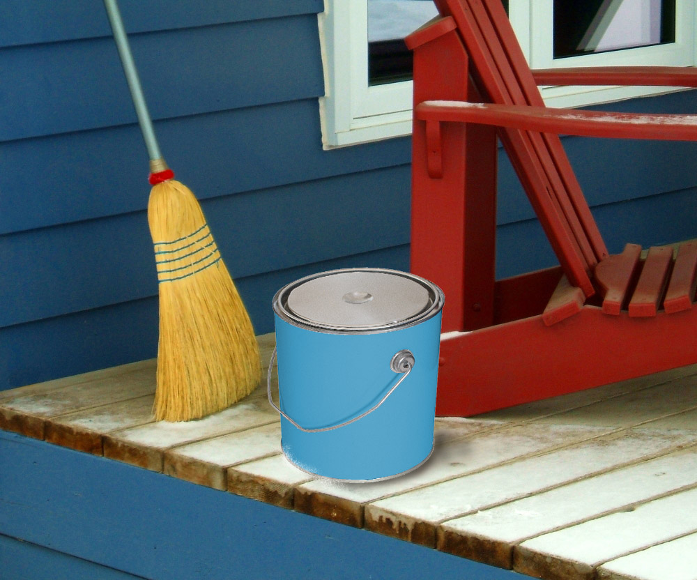 Cold weather painting american ebuilder for Temperature for exterior painting