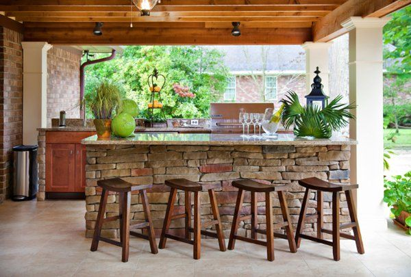 Outdoor Kitchen, Outdoor Dining